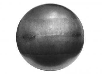 Шар металлический штампованный пустотелый